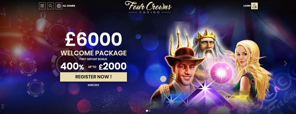 4 crowns casino online