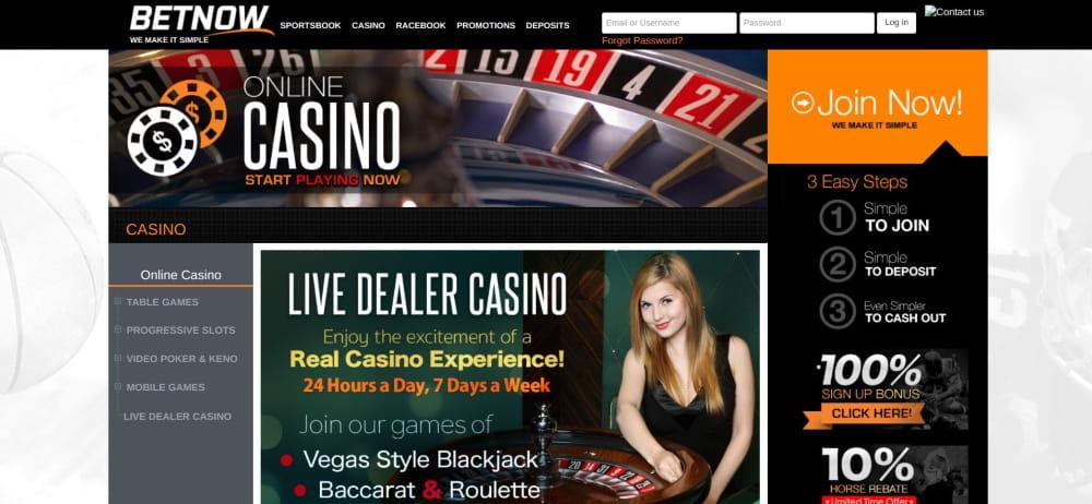 BetNow Casino Review
