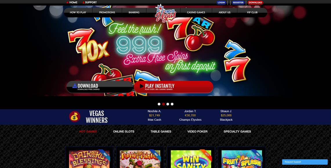 This Is Vegas Online Casino Review