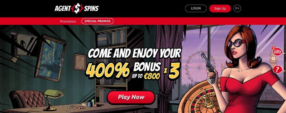 agent spins casino no depost bonus