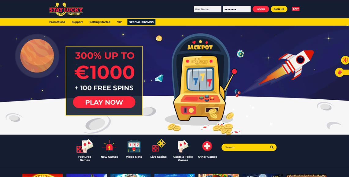 stay lucky casino review